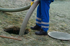 emptying your new septic tank