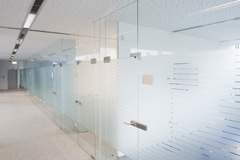 Tandragee glass partition wall costs
